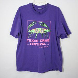 Texas Crab Festival Well Worn TShirt Sz XL